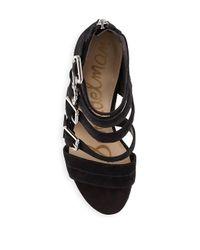 Sam Edelman Black Yasmina Sandals