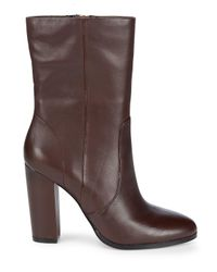 Saks Fifth Avenue - Black Harper Leather Booties - Lyst