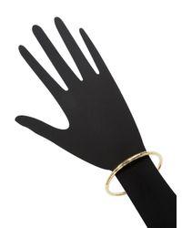 Roberto Coin - Metallic Hand Hammered 18k Gold Martellato Bangle Bracelet - Lyst