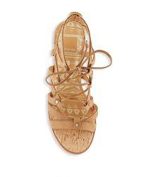 Dolce Vita Multicolor Open-toe Ankle-tie Cage Sandals