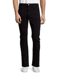 7 For All Mankind Blue Slimmy Solid Jeans for men