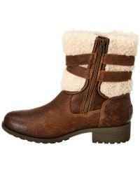 Ugg Brown Blayre Iii Waterproof Leather Boot