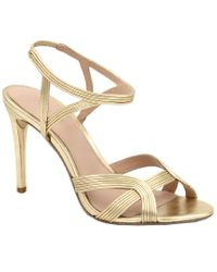 Rachel Zoe Metallic Isabella Leather Sandal