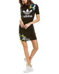 Adidas Black T-shirt Dress