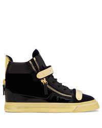 Giuseppe Zanotti Black Coby Sneaker for men