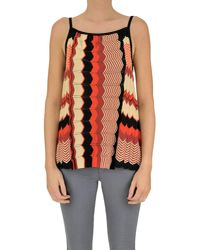 Jucca - Multicolor Texture Knit Top - Lyst