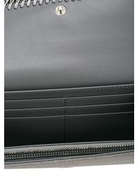 Stella McCartney - Gray 'continental Flap Falabella' Wallet - Lyst