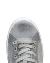 2 Star Gray Suede Sneakers