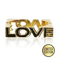 Goddiva Metallic Love Bangle*