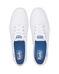 Keds White Sneaker Champion Canvas