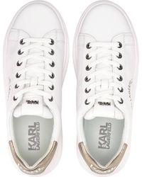 Karl Lagerfeld White , Sneaker Kapri Maison Karl Lace