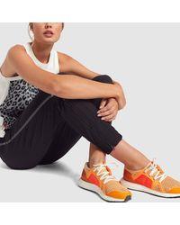 Adidas Orange Ultraboost Sneakers