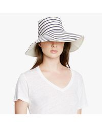 Hat Attack Blue Reversible Sunhat