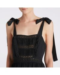 Ulla Johnson | Black Violet Dress | Lyst