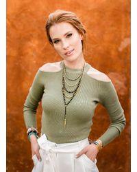 Gorjana & Griffin - Metallic Power Gemstone Lapis Beaded Necklace For Wisdom - Lyst