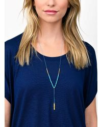Gorjana & Griffin - Metallic Power Gemstone Turquoise Necklace For Healing - Lyst