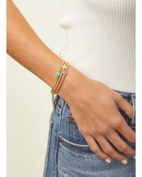 Gorjana & Griffin - Metallic Power Gemstone Charm Bracelet For Dream - Lyst