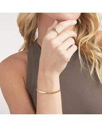 Gorjana Metallic Copy Of Bespoke Signet Ring (gold) [for Development]