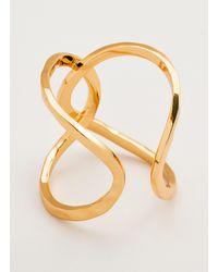 Gorjana & Griffin - Metallic Taner Interlocking Ring - Lyst