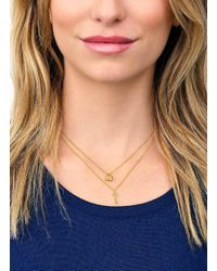Gorjana & Griffin - Metallic You + Me Lock And Key Necklace Set - Lyst