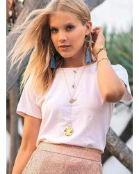 Gorjana & Griffin - Metallic Chloe Toggle Versatile Necklace - Lyst