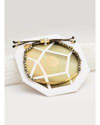 Gorjana & Griffin Metallic Power Gemstone Bracelet For Strength