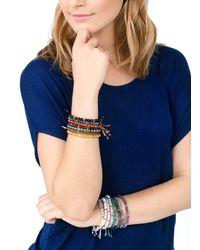 Gorjana & Griffin - Metallic Power Gemstone Rose Quartz Beaded Bracelet For Love - Lyst