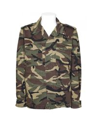 Saint Laurent | Green Love Force Jacket Camouflage for Men | Lyst