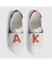 e195a6bc76b Lyst - Gucci Diy Men s Ace Sneaker for Men
