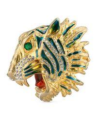 Gucci - Metallic Rajah Multi-finger Ring - Lyst