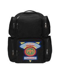 3f24d5793708 Lyst - Grand sac à dos à empiècement style années 80 Gucci pour ...