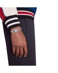 Gucci - Metallic Garden Cuff Bracelet for Men - Lyst