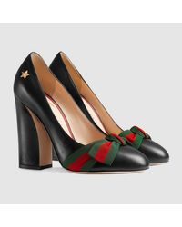 Gucci Natural Leather Pump