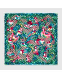 Gucci - Multicolor Chinese New Year Scarf - Lyst