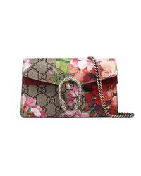 Gucci Multicolor Dionysus GG Blooms Super Mini Bag