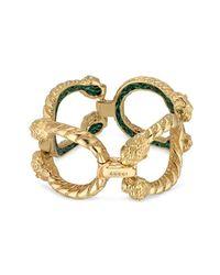 Gucci - Metallic Dionysus Bracelet In Yellow Gold - Lyst