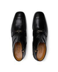 Gucci Boot mit Horsebit in Black für Herren
