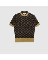 Gucci 【公式】 (グッチ)GGパターン ウール トップブラック ウールブラック Black