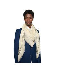 Châle à imprimé NY YankeesTM Gucci pour homme en coloris White