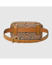 メンズ Gucci グッチdisney (ディズニー) X ベルトバッグ Natural