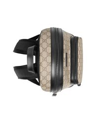 Gucci - Natural GG Supreme Small Backpack - Lyst