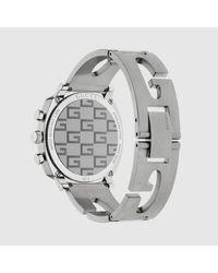 Gucci Metallic Grip Uhr, 40 mm