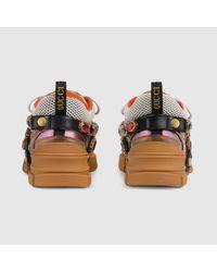 Gucci 〔フラッシュトレック〕 ウィメンズ スニーカー(取り外し可能なクリスタル付き) Multicolor