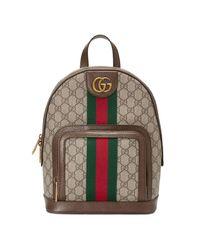 e1b90cc4a978 Lyst - Gucci Ophidia Backpack