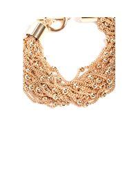 Guess - Metallic Rosa Beaded Layered Bracelet - Lyst