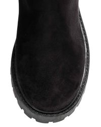 H&M Black Over-the-knee Boots