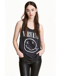H&M Gray Vest Top