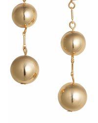 H&M - Metallic Earrings - Lyst