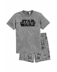 H&M - Gray Pyjamas T-shirt And Shorts for Men - Lyst