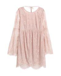 H&M Pink Lace Dress
